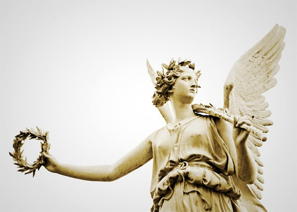 Древнегреческая богиня Ника
