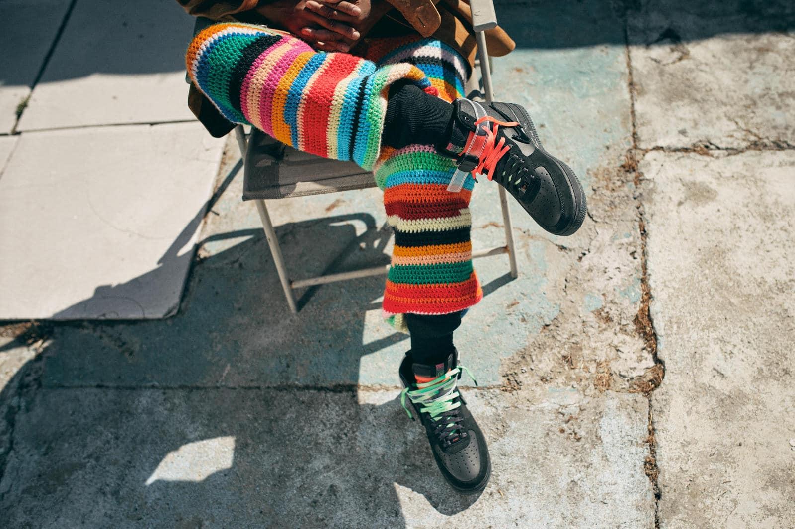 Лорен Хэлси в кроссовках All For 1 Los Angeles