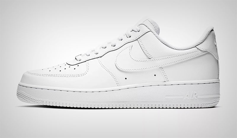 Белые Nike Air Force 1 07 Low