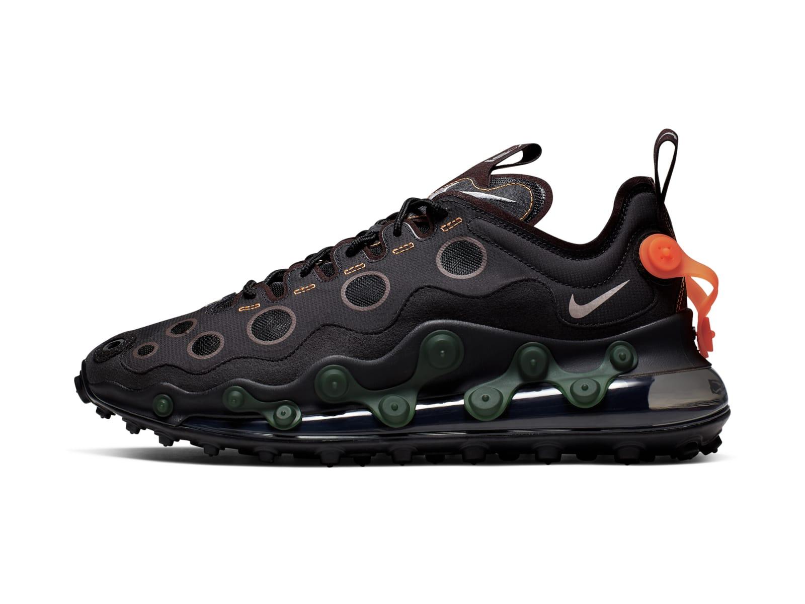 Черные Nike ISPA Air Max 720