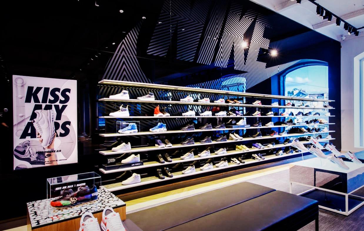 Магазины Nike