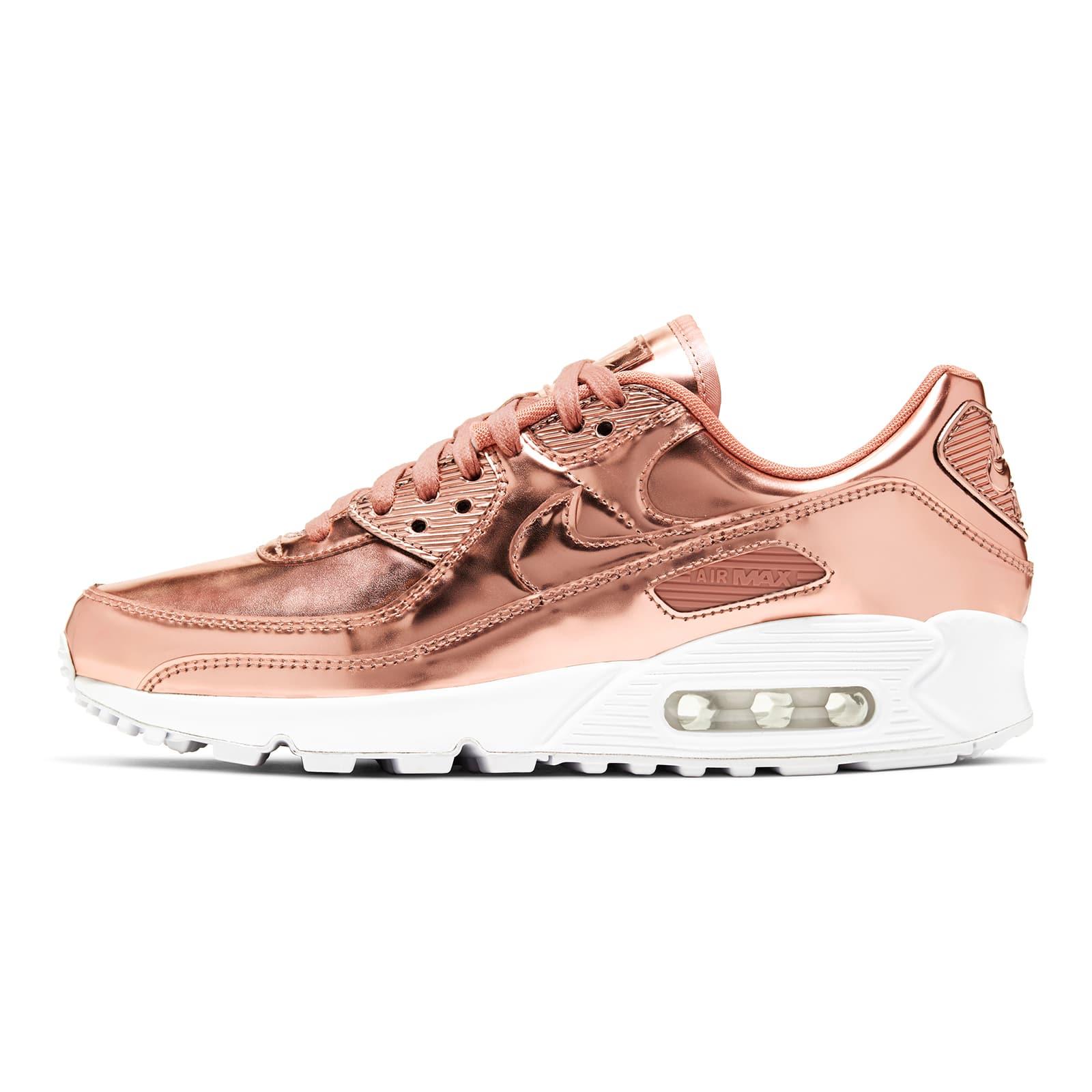 Розовые Air Max 90 Metallic