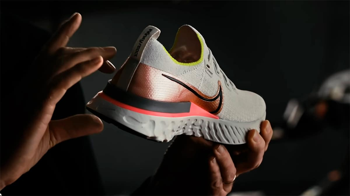 Создание кроссовок Nike React Infinity Run