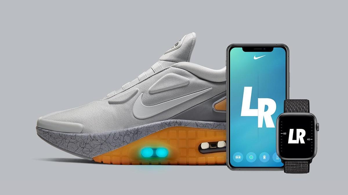 Кроссовки Nike Adapt Auto Max с мобильным приложением
