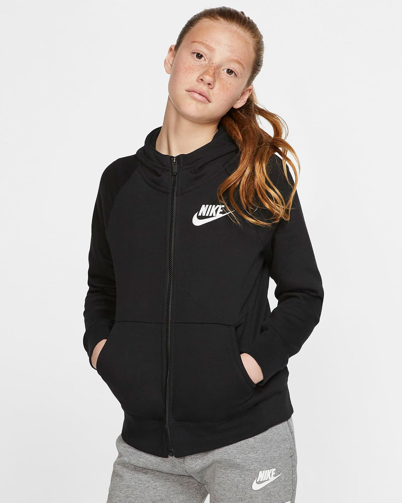 Толстовка Nike с молнией во всю длину