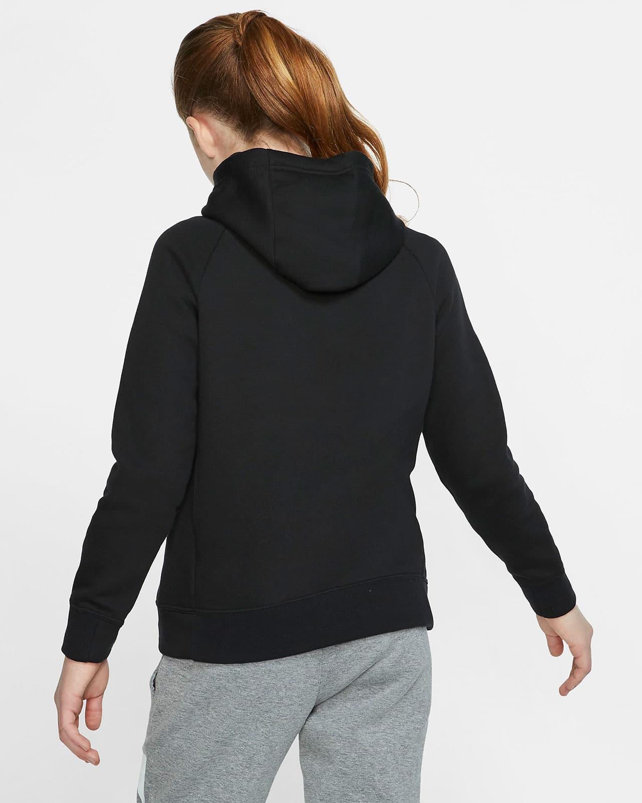 Толстовка Nike - вид сзади