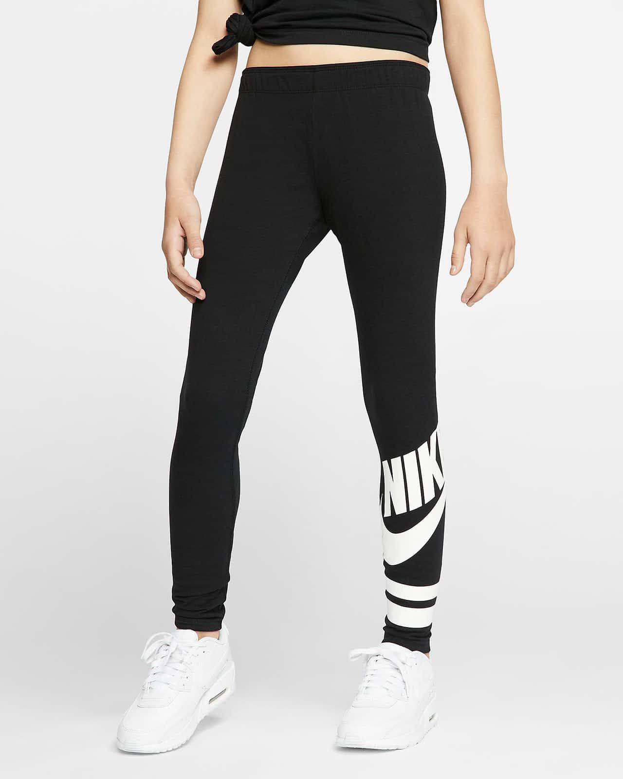 Леггинсы Nike с принтом