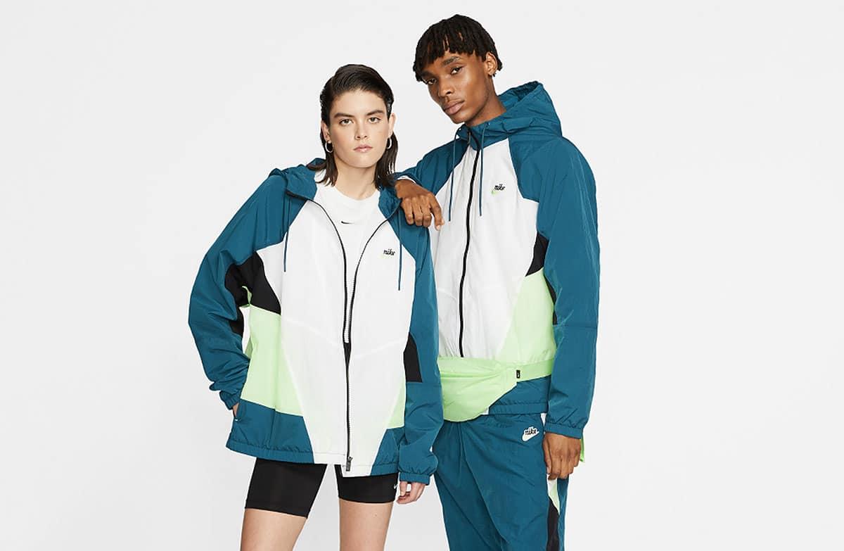 Футболки и куртки Nike Sportswear к лету 2020