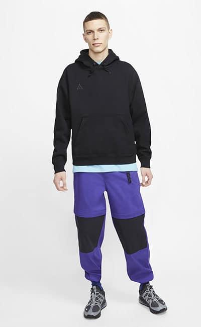 Мужская толстовка и конвертируемые брюки