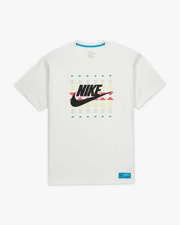 Белая футболка N7
