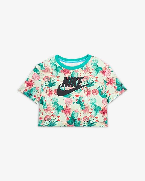 Короткая женская футболка N7