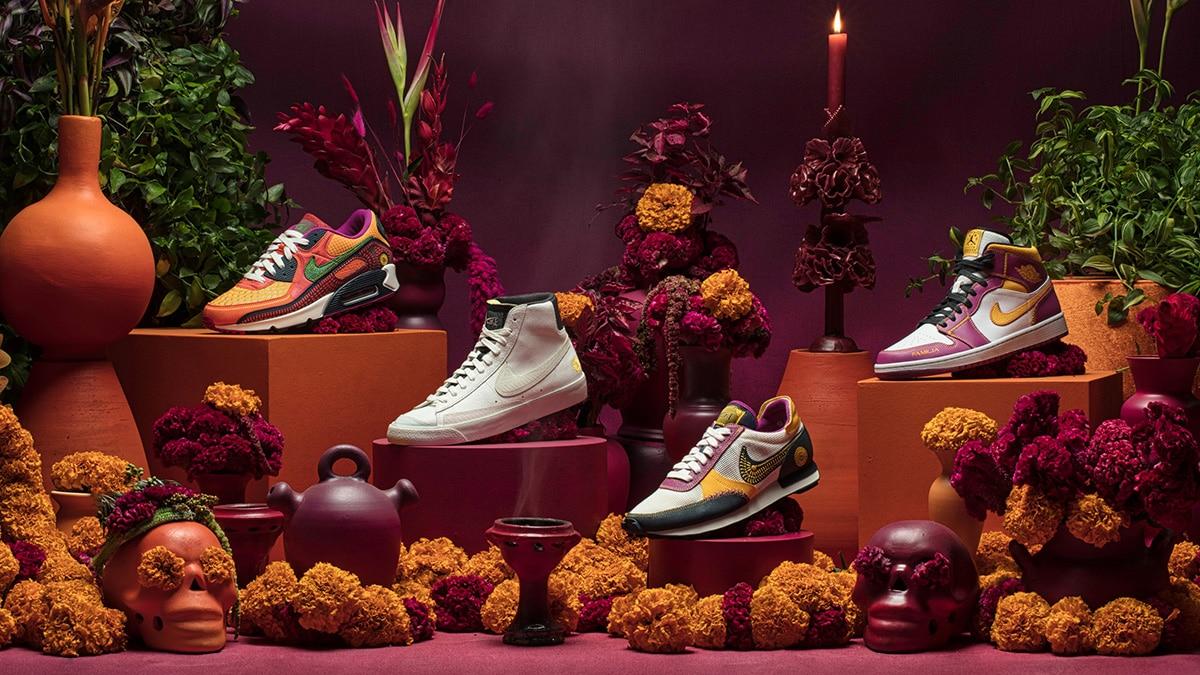 Коллекция Nike Dia de Muertos
