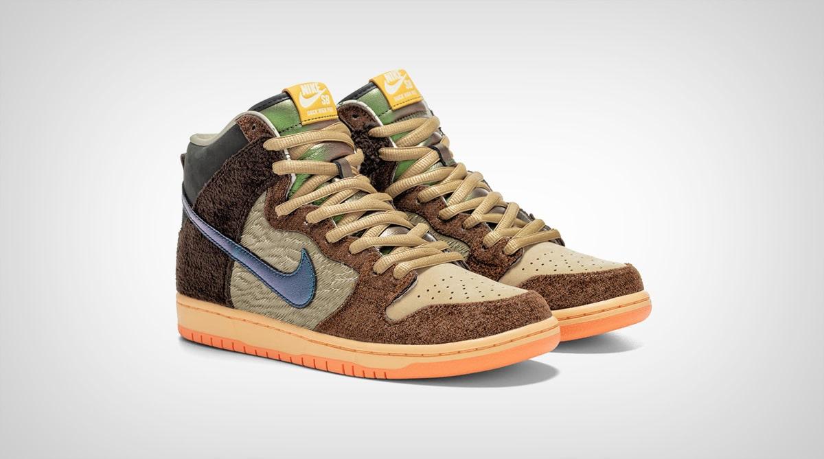 Кроссовки Concepts x Nike Dunk High TurDUNKen