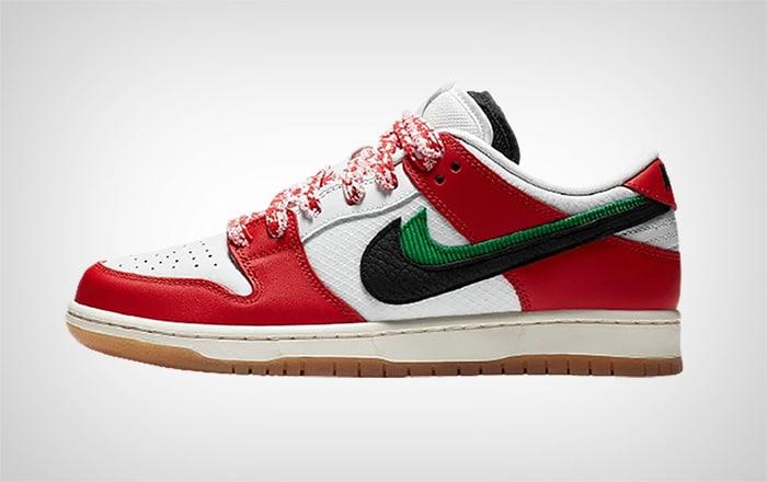 Nike SB x FRAME Dunk - вид сбоку
