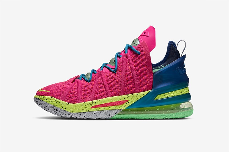 LeBron 18 Los Angeles By Night