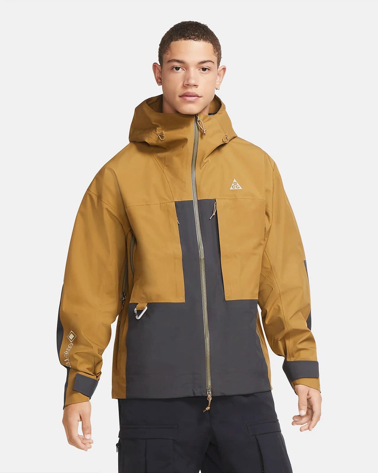 Мужская бежево-серая куртка