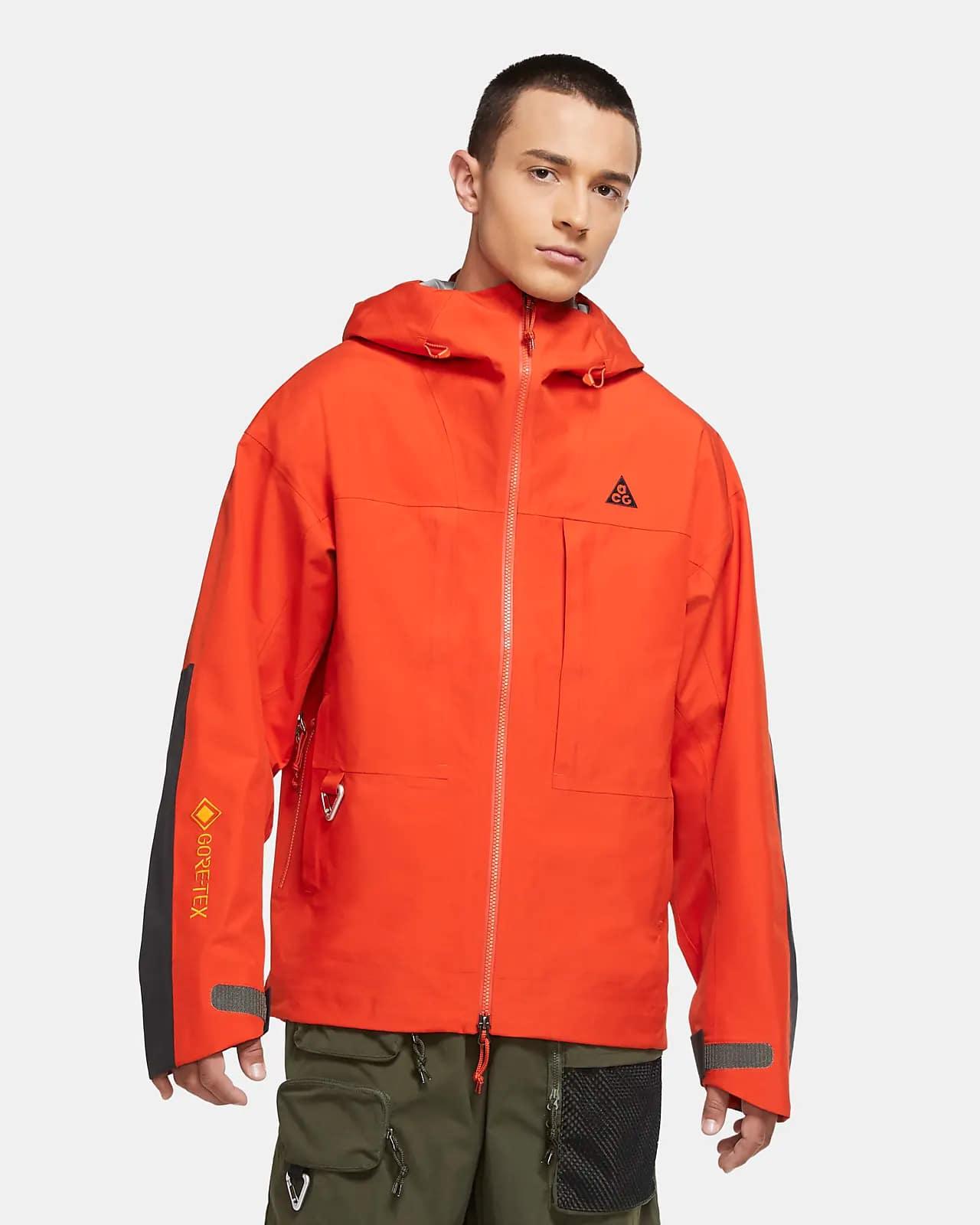 Мужская оранжевая куртка