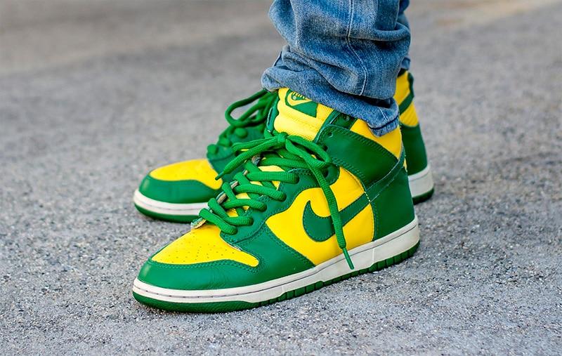 Nike Dunk High Brazil