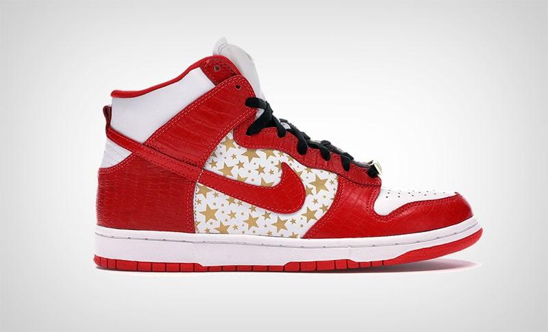 Nike Dunk High Pro SB Supreme Red
