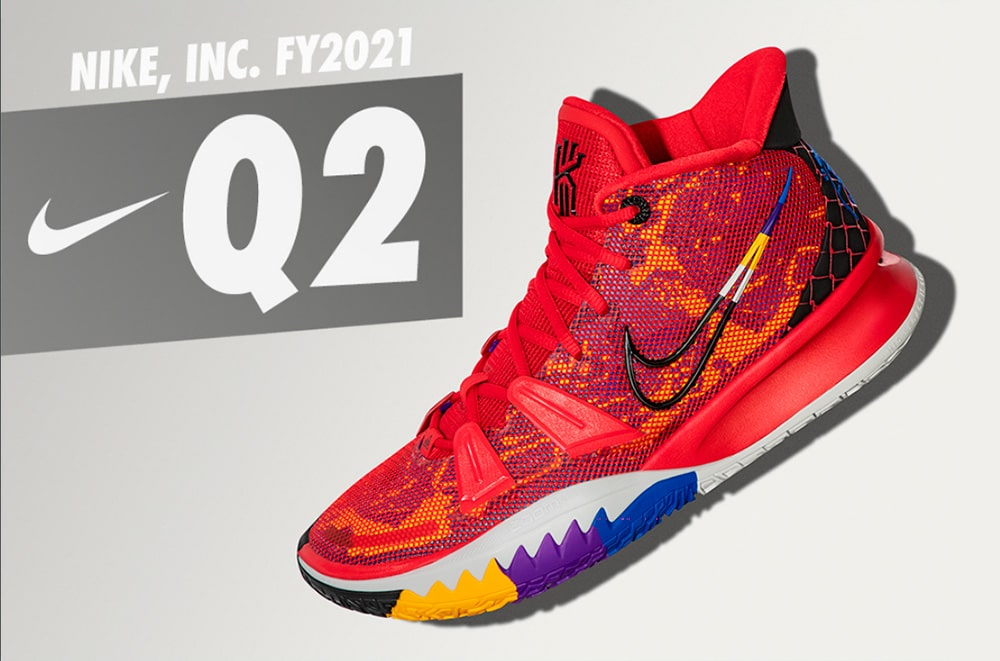Отчет Nike за второй финансовый квартал 2021