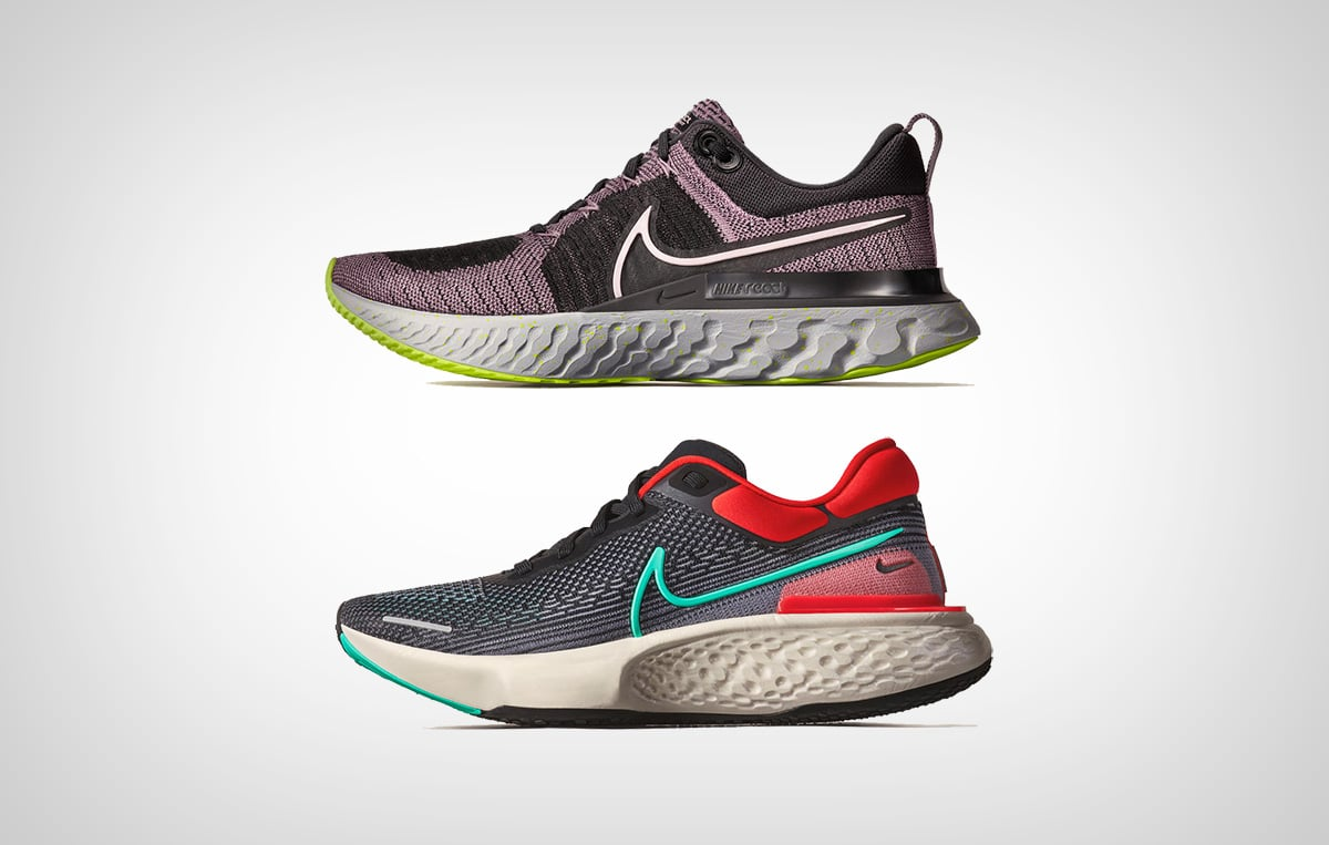 Nike React Infinite Run2 & Nike ZoomX Invincible Run