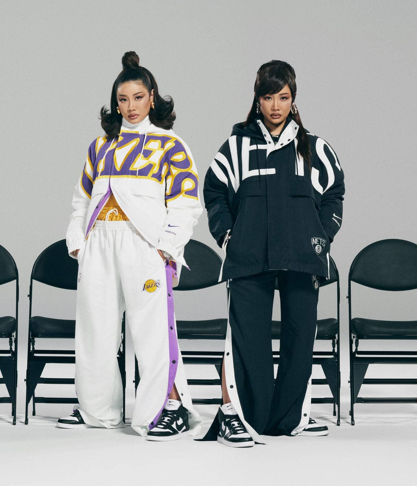 Одежда Lakers и Nets