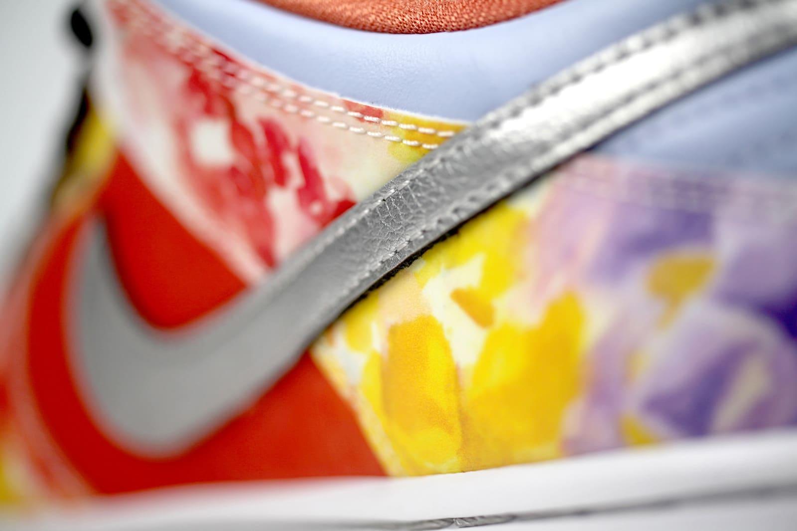 Задняя часть правой кроссовки