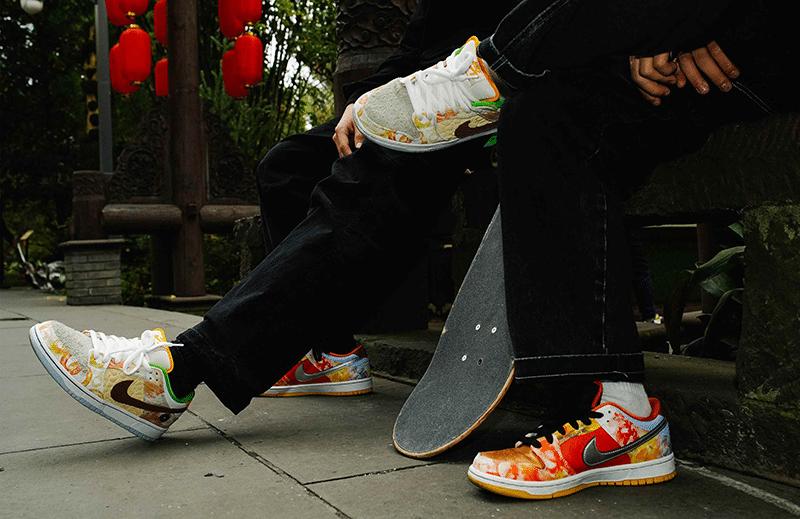 Кроссовки для скейтбординга SB Dunk Low Street Hawker
