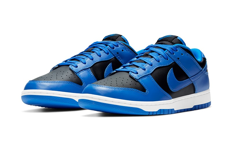Nike Dunk Low black/hyper cobalt