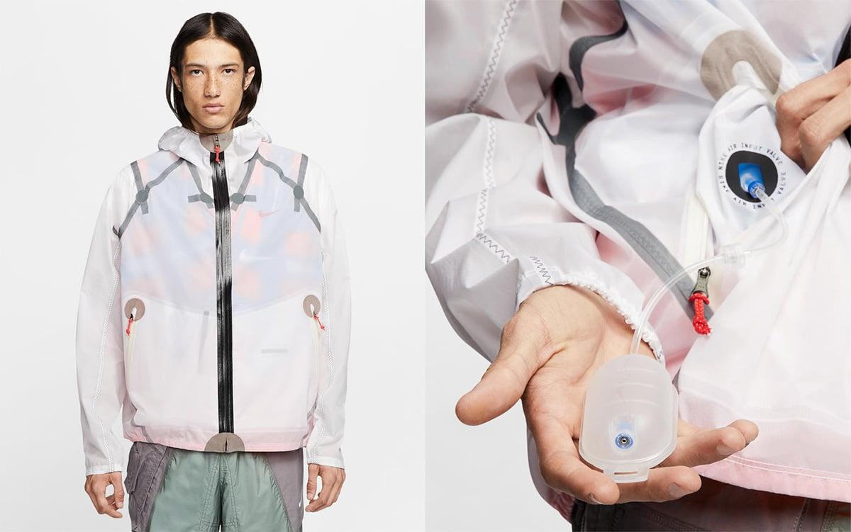 Надувная куртка Nike