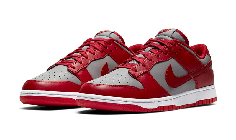 Nike Dunk Low red/grey