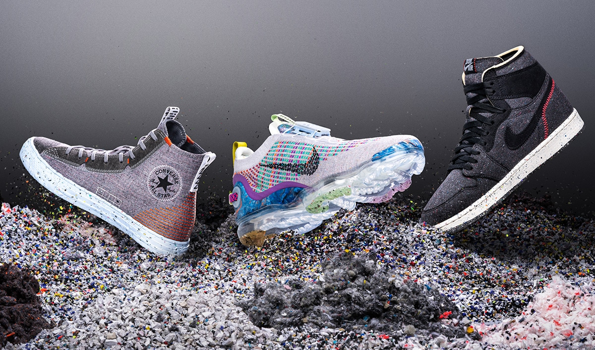 Экологичный дизайн в Nike