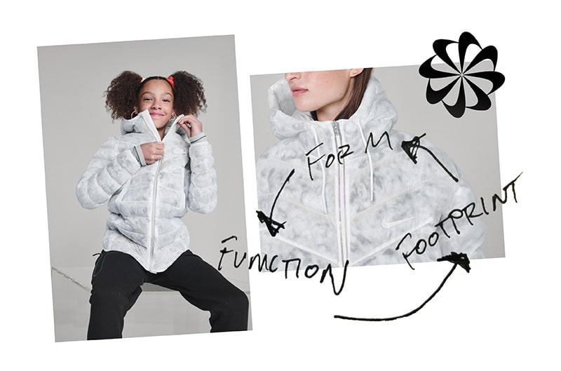 Куртка с циклическим дизайном