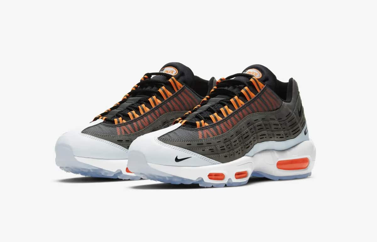 Кроссовки Nike Air Max 95 Total Orange