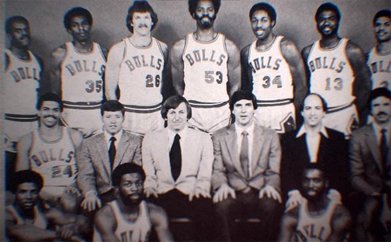 Игроки «Буллз» начала 80-х