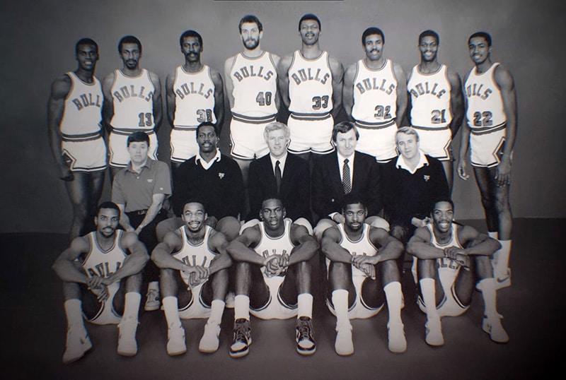 Команда Чикаго сезона 84-85