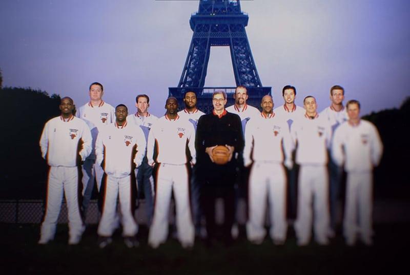Команда Чикаго в Париже