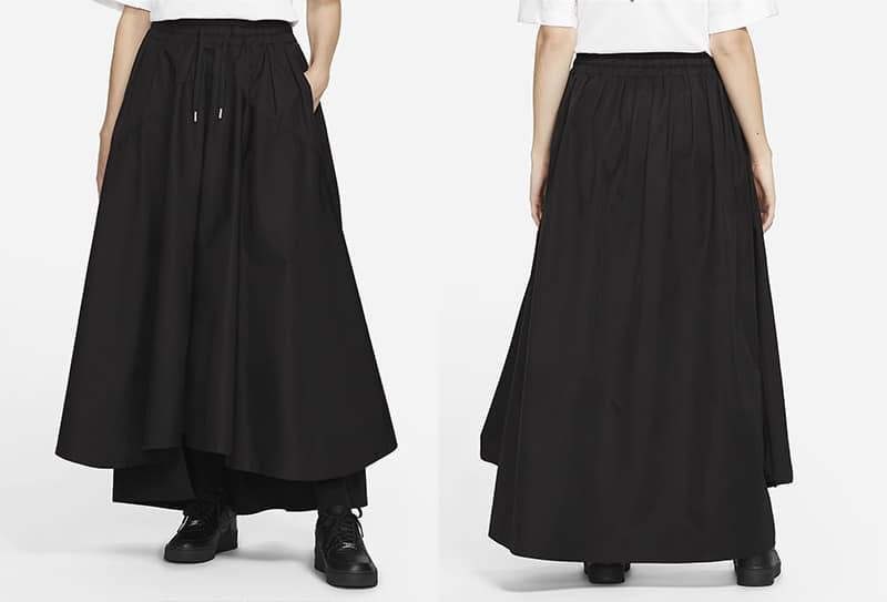 Женская длинная юбка Nike ESC