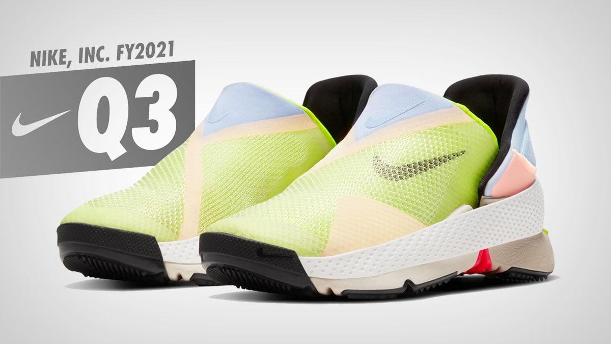 Отчет Nike за третий финансовый квартал 2021