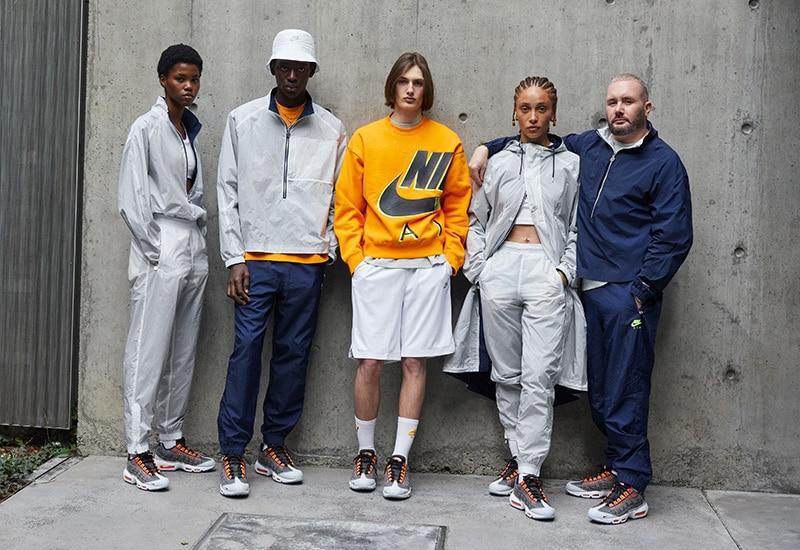 Коллекция одежды Nike x Kim Jones