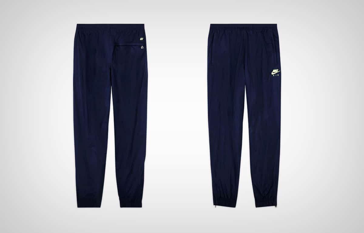 Синие брюки Nike x Kim Jones