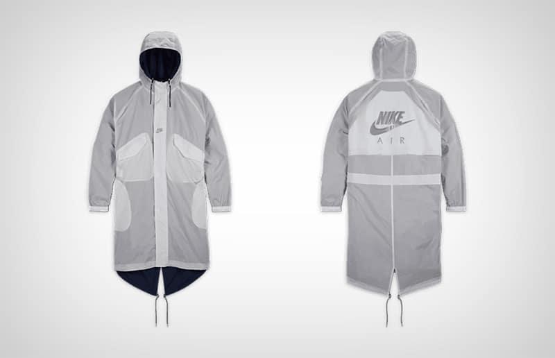 Серая парка Nike x Kim Jones