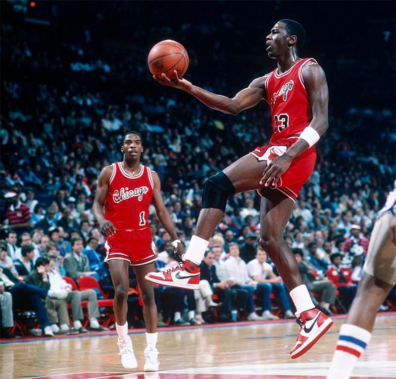 Джордан с мячом, 1984 год