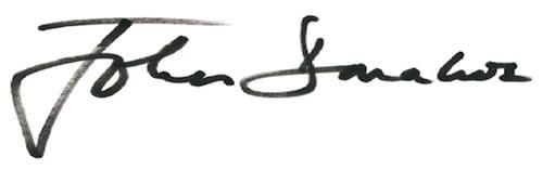 Подпись Джона Донахью