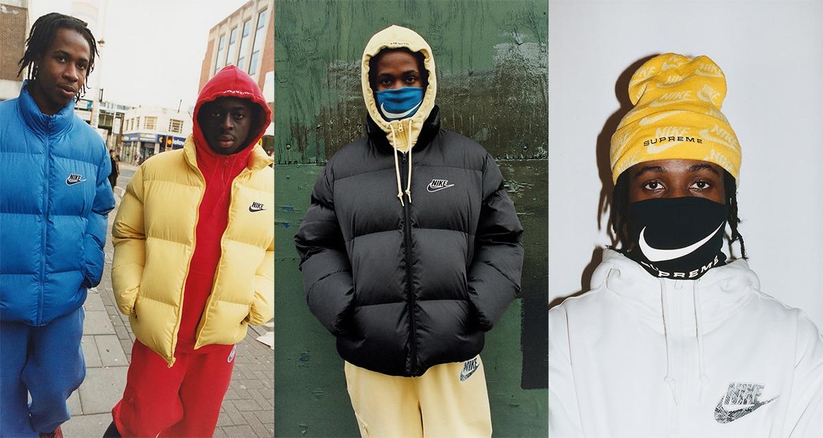 Коллекция одежды Supreme x Nike