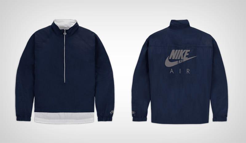 Синяя ветровка Nike x Kim Jones
