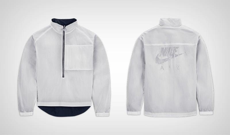 Серая ветровка Nike x Kim Jones