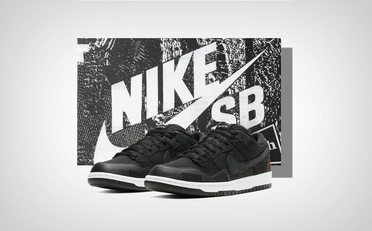 Кроссовки Dunk Low x Verdy Wasted Youth