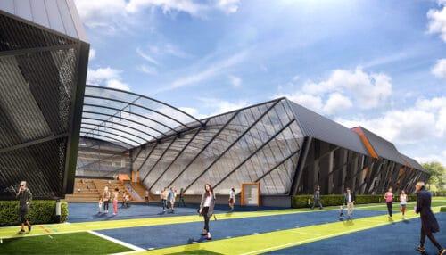 Проекты зданий штаб-квартиры Nike