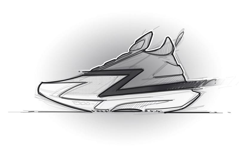 Скетч модели Zion 1